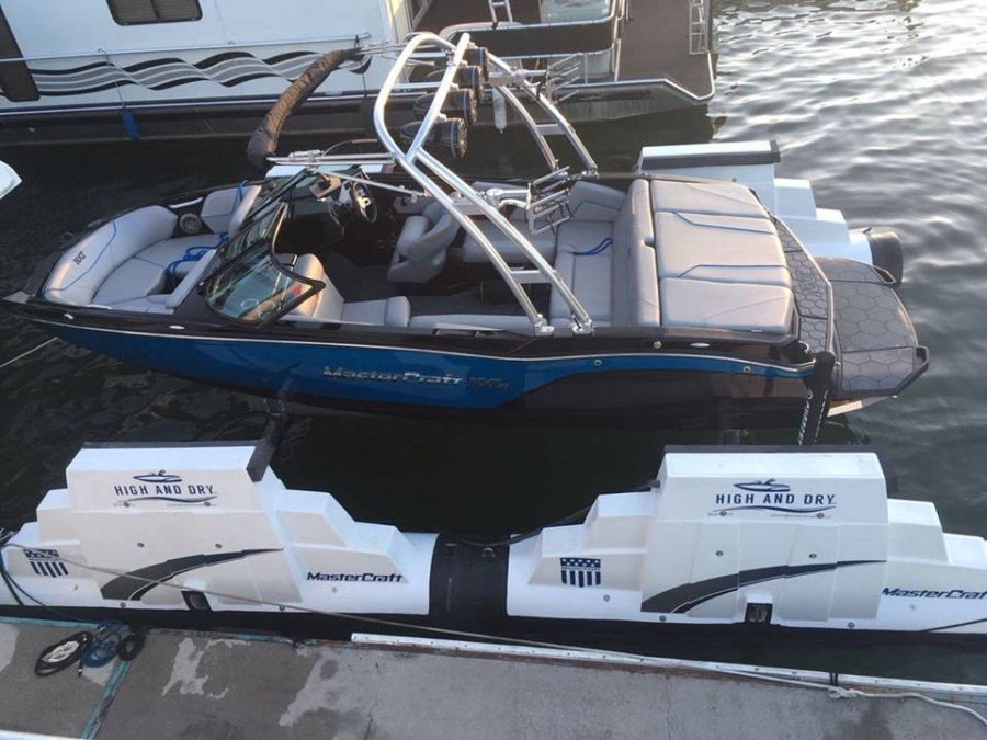 Boat Lift Delivery to Norris Lake for Mastercraft Boat